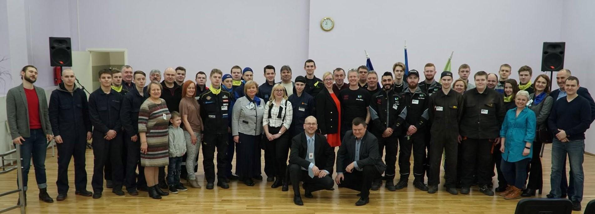 """Viru Welder 2019"" osalejad ja korraldajad. Foto: Ruslan Motõzen"
