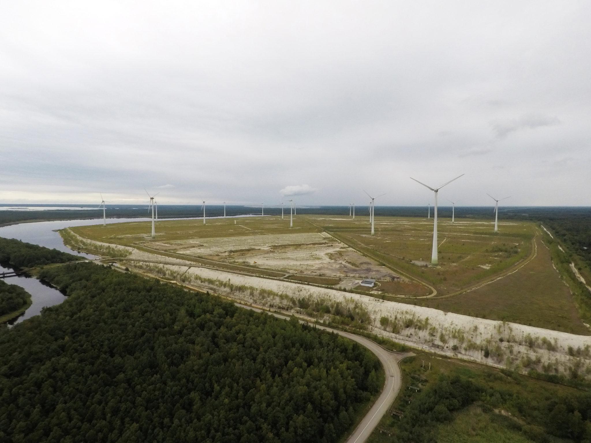 Narva tuulepark. Foto: Enefit Green