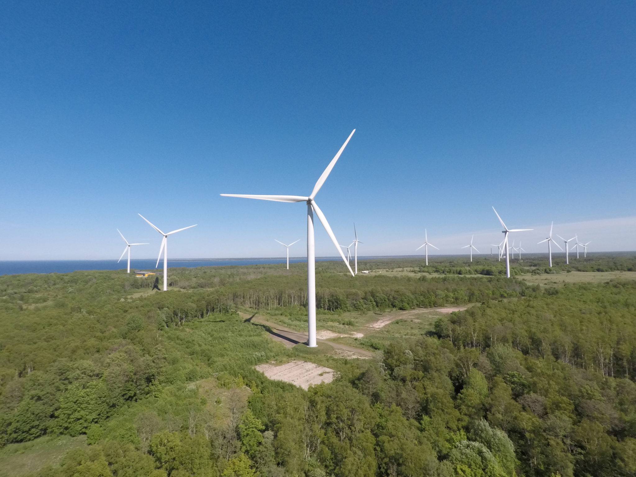 Paldiski tuulepark. Foto: Enefit Green