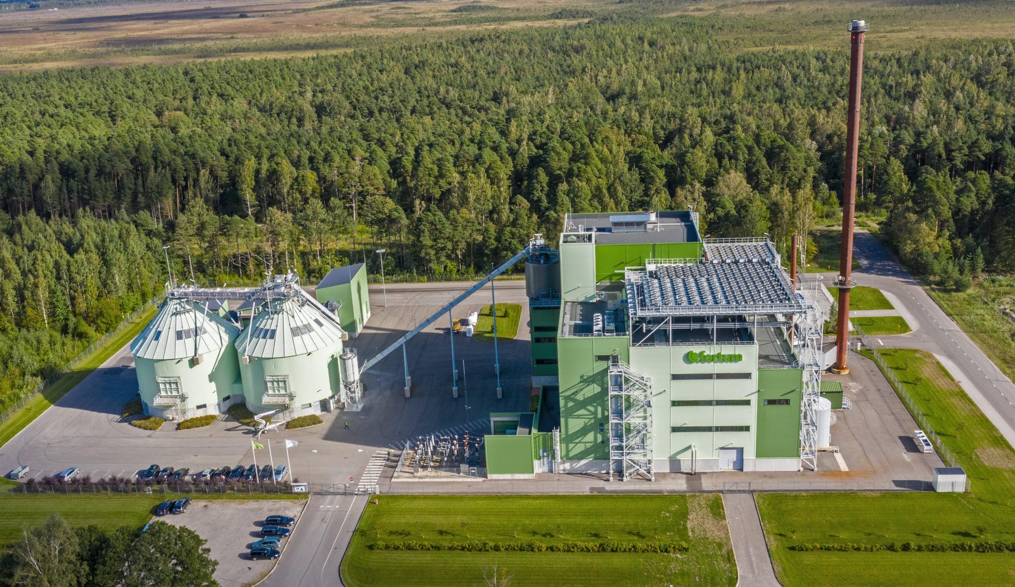 Linnaenergia - Pärnu koostootmisjaam paikneb Niidu tööstuspiirkonnas.