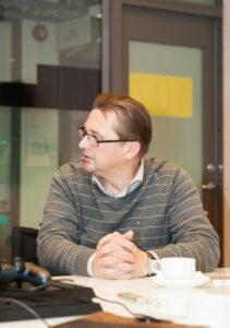 Eesti Keemiatööstuse Liidu juht Hallar Meybaum. Foto: Meeli Küttim